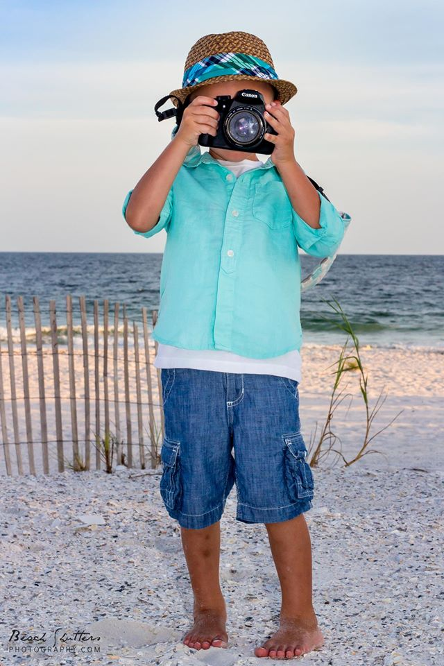 too cute, he got moms camera and can use it! Probably can use the ipad better than me