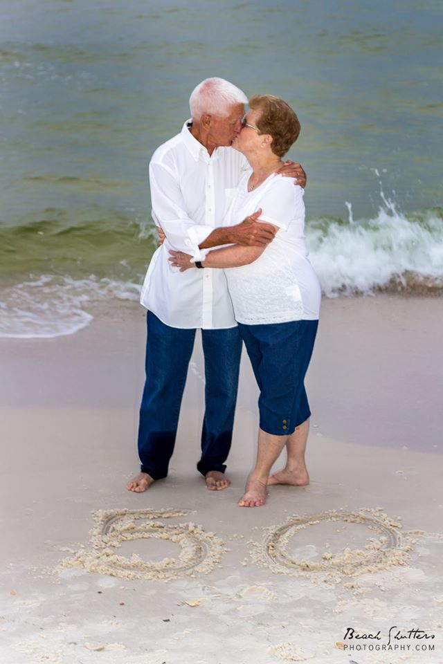 In Love after all these years. Photos by Beach Shutters Photography in Orange Beach Alabama