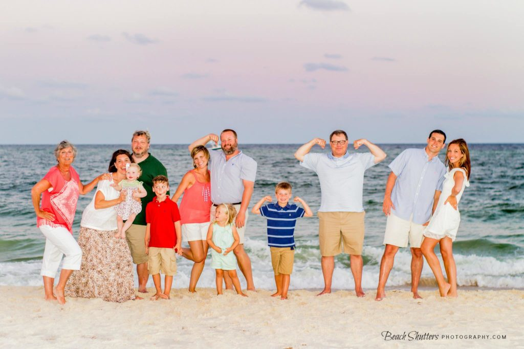 You know this group is fun just by seeing their family photos