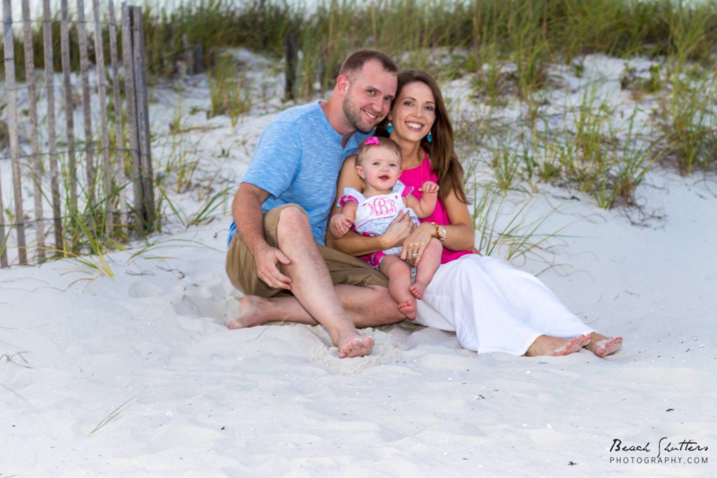 Orange Beach Family Portraits at the Hampton Inn