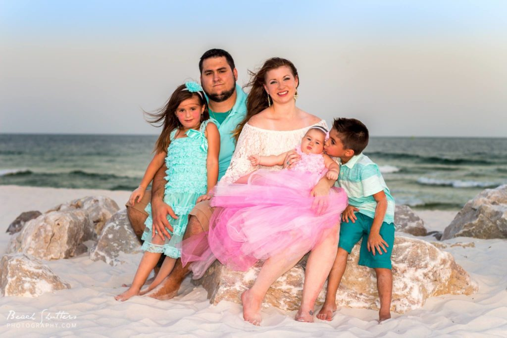 Local family needed to update their family photos since baby was born