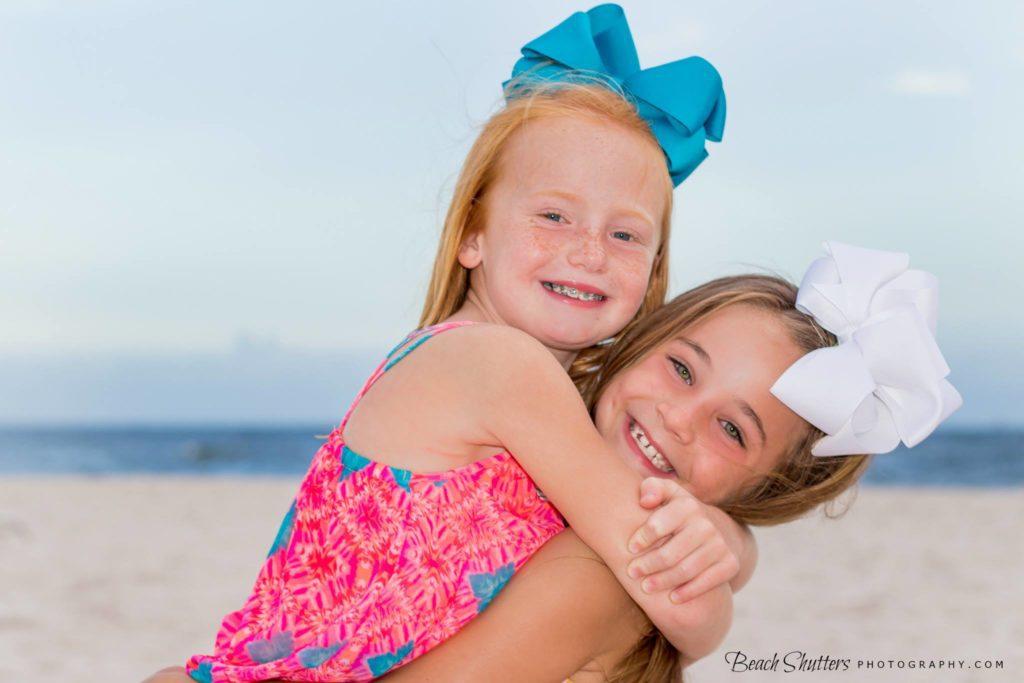 Girls Vacation portrait Fort Morgan Beach Club
