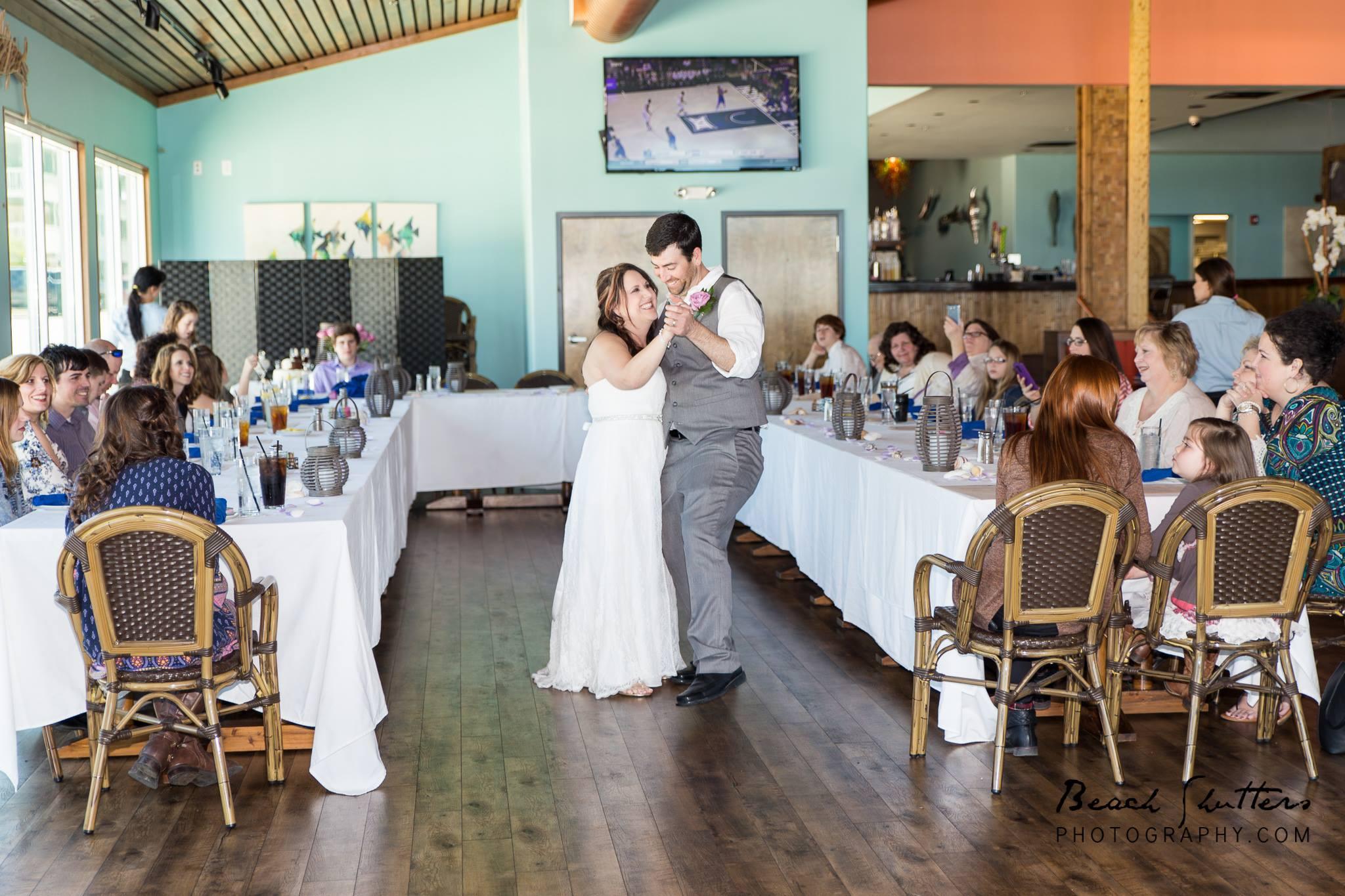 Orange Beach Wedding Photographer at the reception