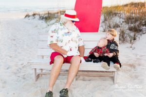 Pictures with Santa at the Beach in Orange Beach Alabama