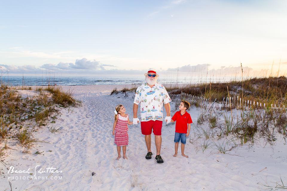 Walk with Santa Gulf Shores or Perdido key