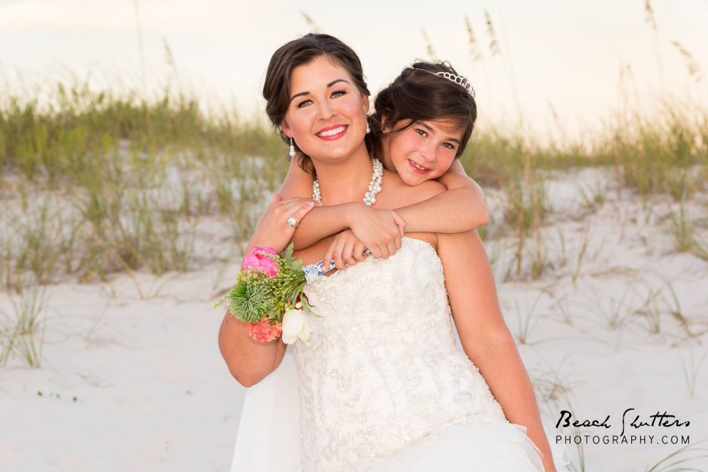 Wedding at the beach photography in Orange Beach