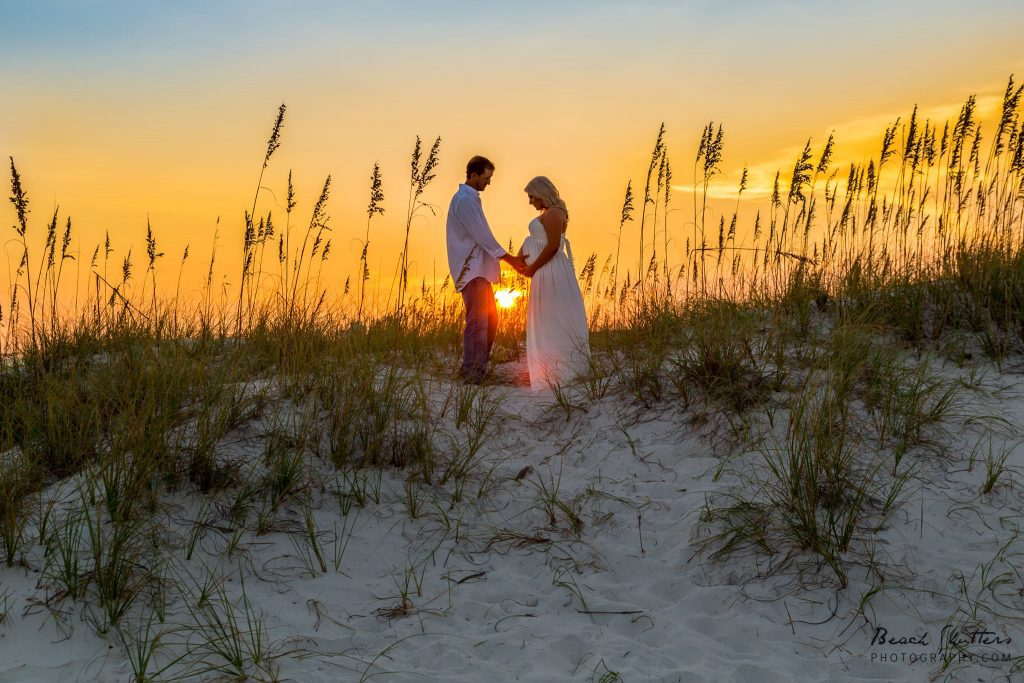 Sunset photography at the Beach in Orange Beach Alabama