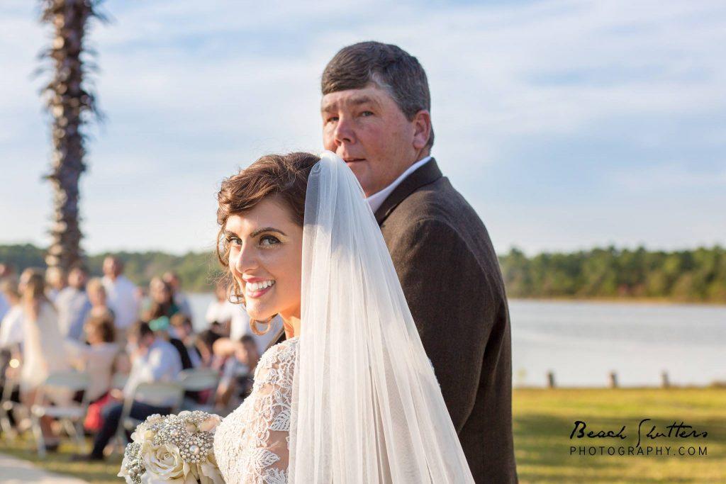 wedding at home in Gulf Shores Alabama best photographer in Orange Beach