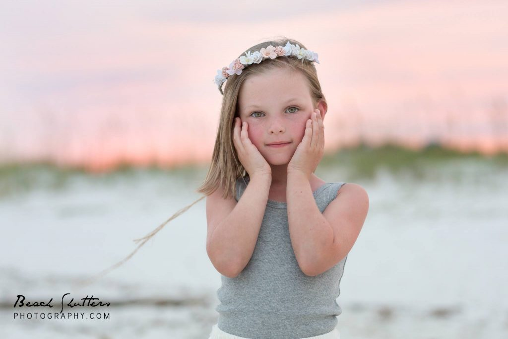 Capturing Magical photos with pink skies in Gulf Shores