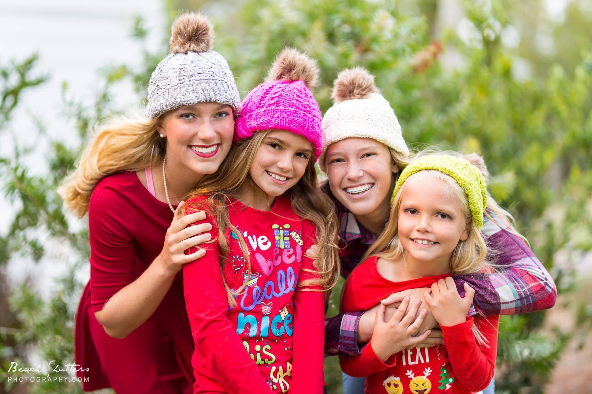 Christmas photos in Orange Beach