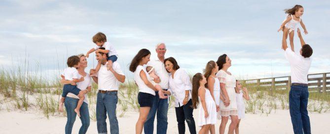 Family Vacation Portraits Orange Beach Alabama
