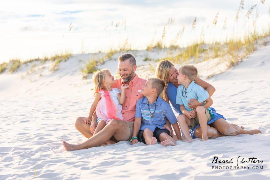 Sunset family photographer Gulf Shores