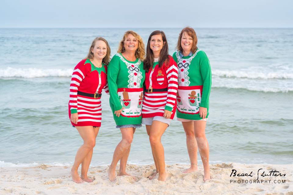 Christmas card photos in Orange Beach
