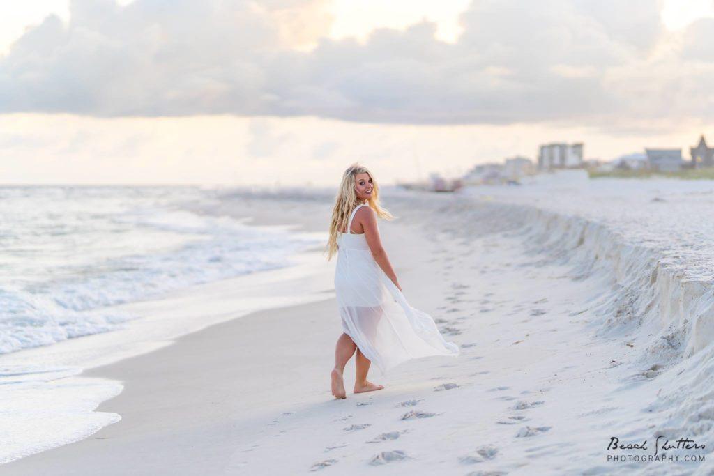 Senior photos in Orange Beach Alabama