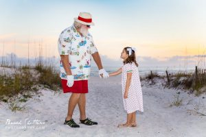 Orange Beach Alabama portraits for Christmas cards