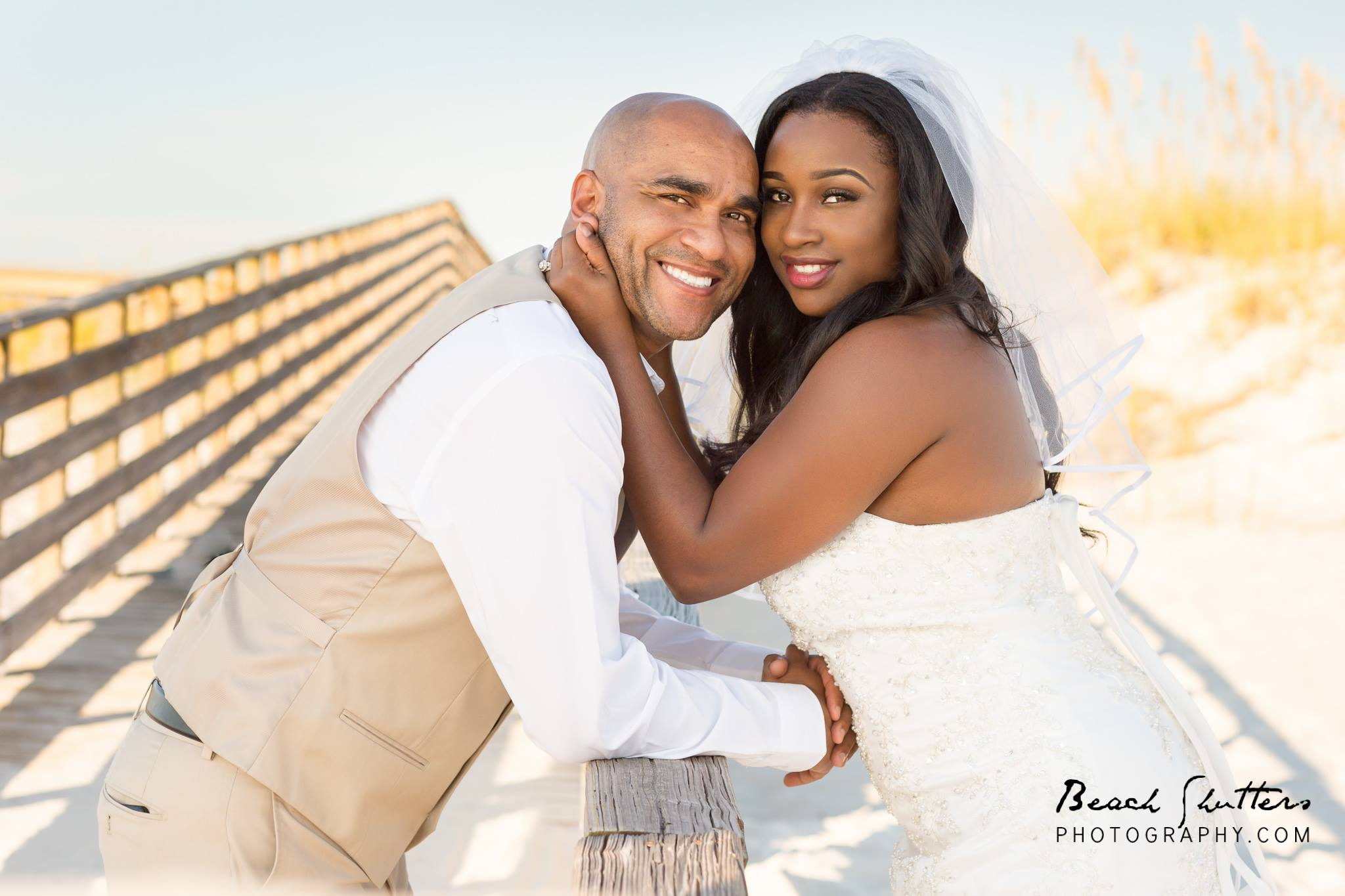Wedding on the boardwalk in Orange Beach Al