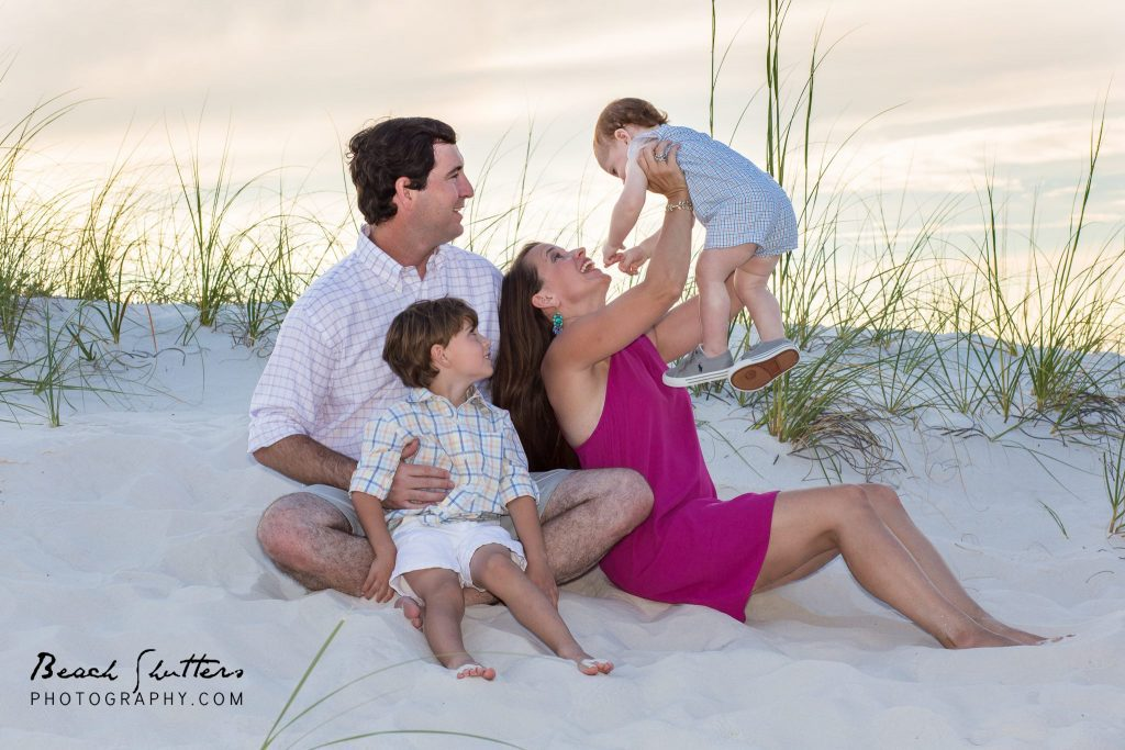 photography at the beach in Orange Beach in the sea oats