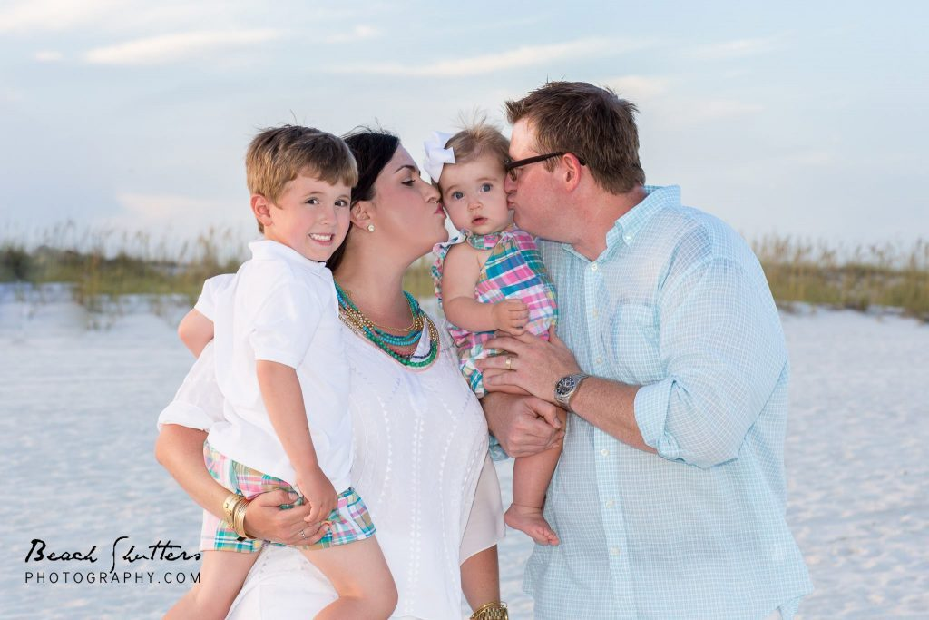 baby photos at Orange Beach by a professional photographer