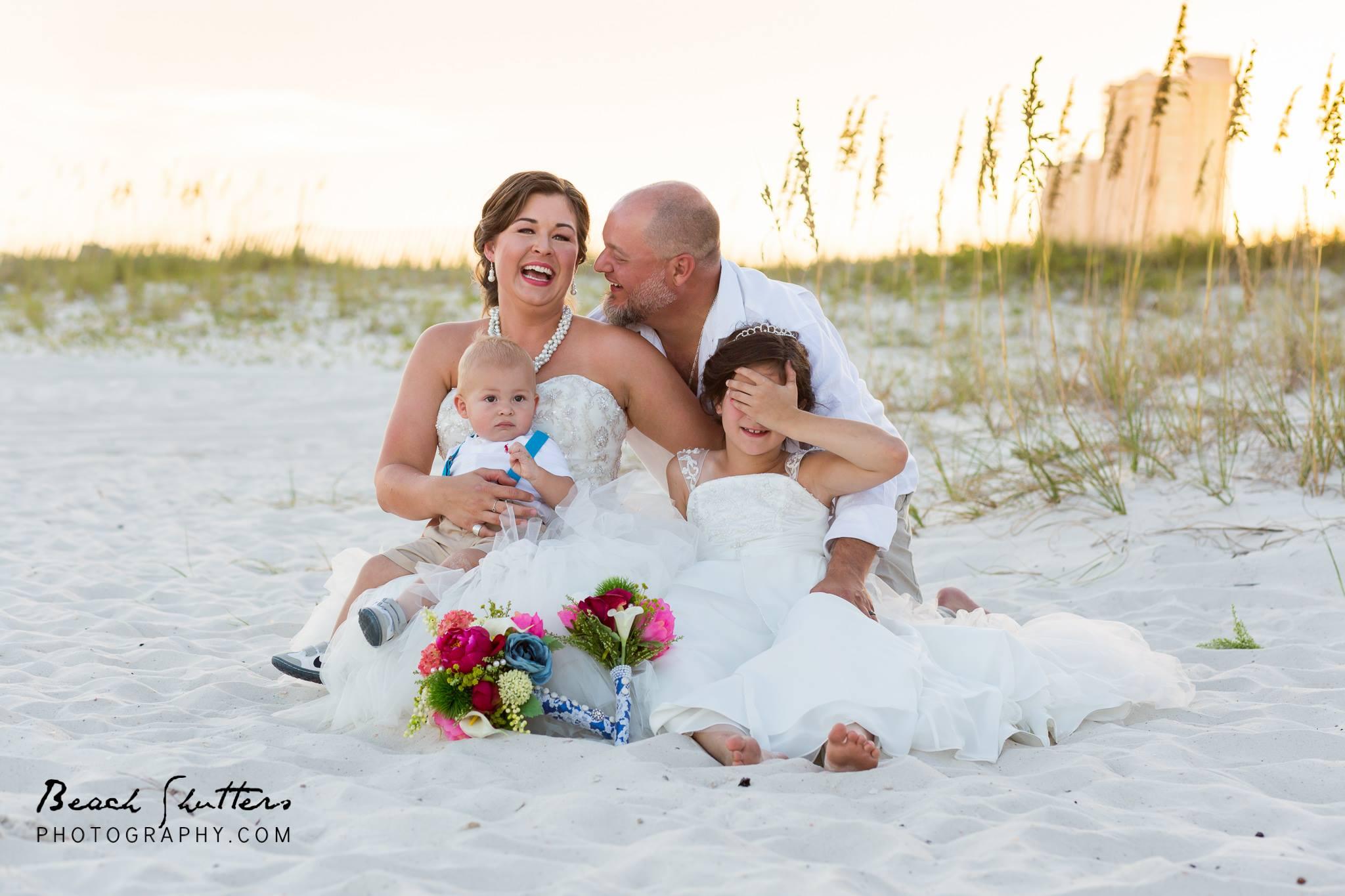 Wedding day in Orange Beach at Perdido Beach Resort photography by Beach Shutters