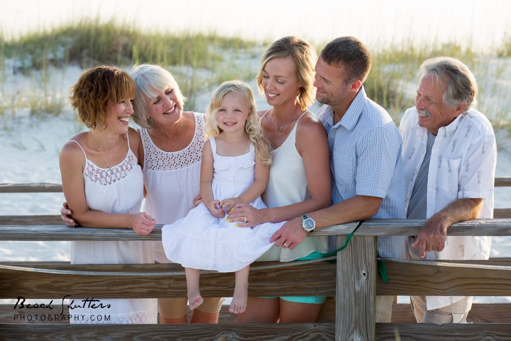 having family photos in Gulf Shores by Beach Shutters Photography