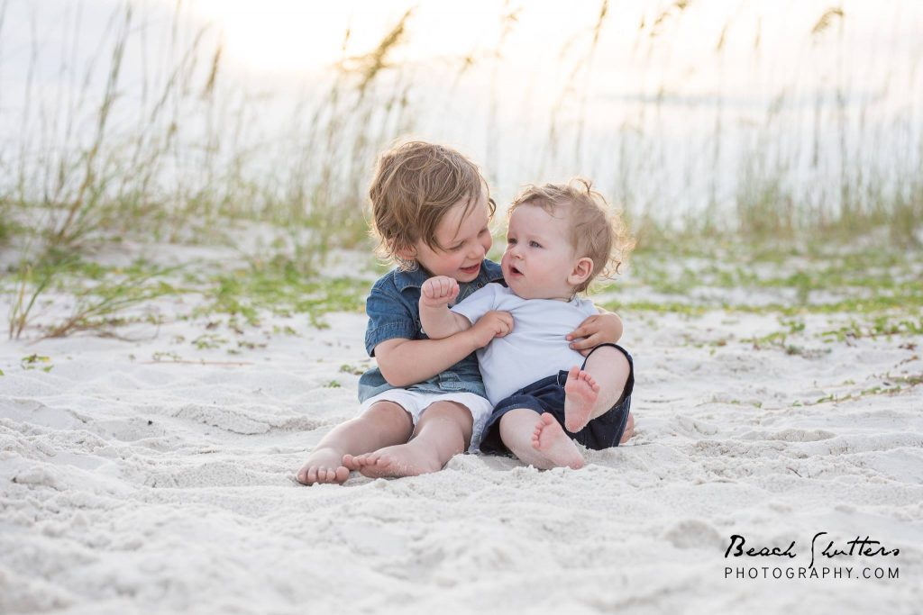 Children's Photography using candid poses in Orange Beach