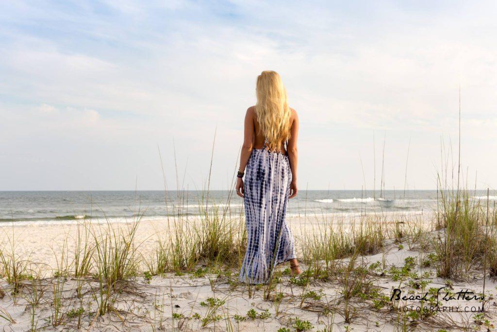 Senior photos Gulf Shores Alabama dolphins