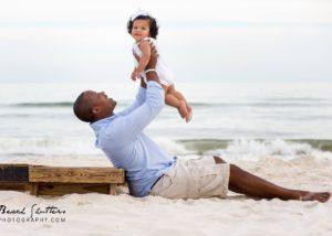Orange Beach photographer taking father daughter photos