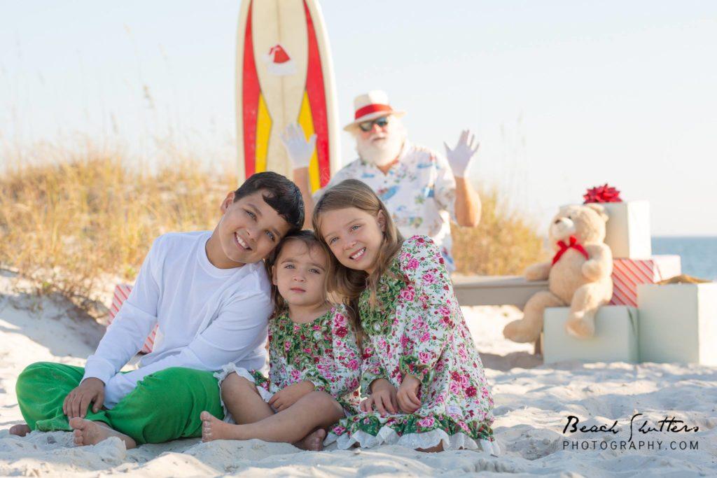 Santa in Orange Beach