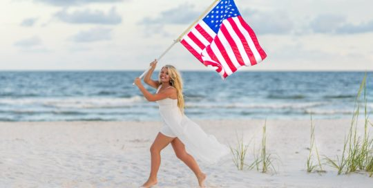 All American Senior Photos in Orange Beach