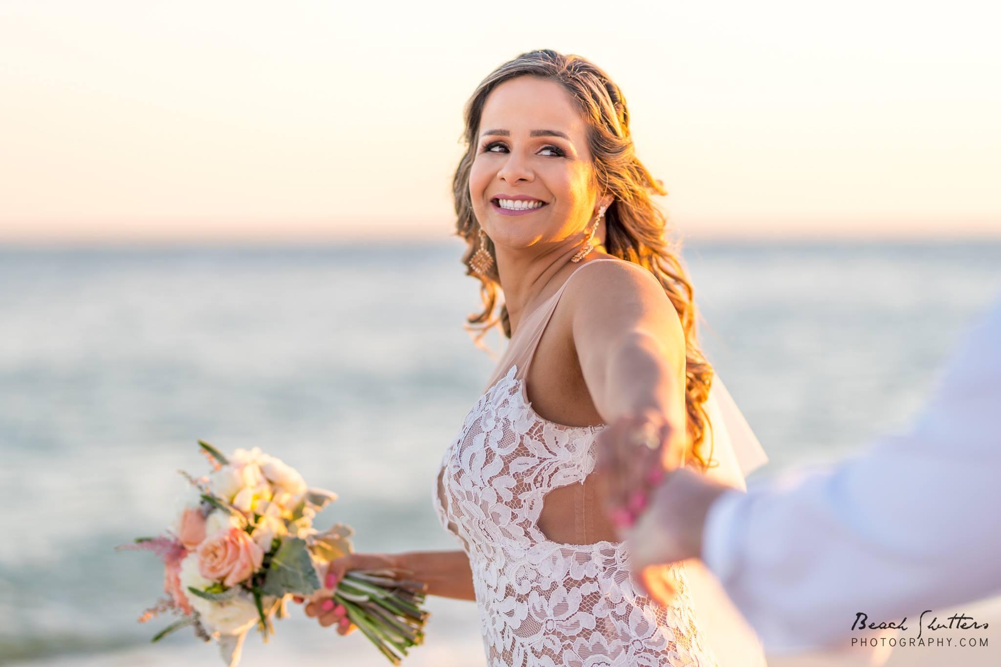 Magical beach wedding in Orange Beach Al